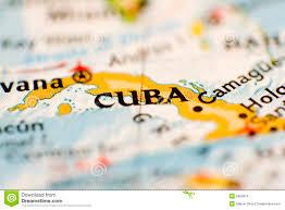 Map Cuba Cuba Map Stock Photo Image Of Tourism Castro Agency 5995616