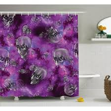 outdoor themed shower curtain wayfair