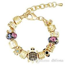 pandora bracelet murano glass images 18k real gold plated fit pandora bracelets murano glass beads jpg