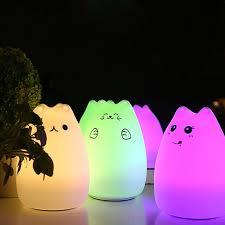 usb cat night light better 1 pc night lights usb cat led children animal night light