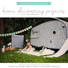 Easy Home Decorating Projects Stencils Make Home Decorating Projects Fun And Easy Stencil Stories