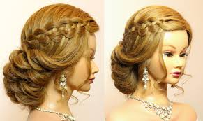 wedding prom hairstyles for long tutorial bridal updo youtube