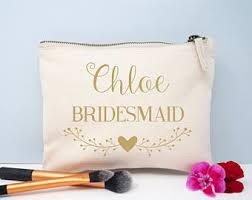 Bridal Makeup Bags Bridal Makeup Bag Etsy
