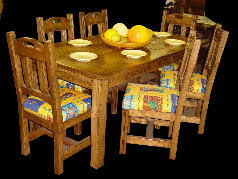 Southwest Dining Room Furniture Southwest Mexican Dining Tables