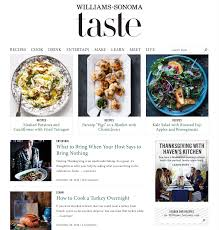 williams sonoma recipes thanksgiving 6 steps to creating an e commerce blog your customers will love