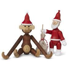 bojesen affe mit weihnachtsmütze rosendahl bei homeform de