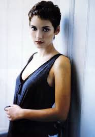 photos of short hair for someone in their sixes cool winona ryder i totally let someone cut my hair like this for