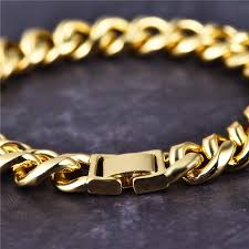 cuban chain bracelet images 12mm 14k gold miami cuban chain and bracelet set aporro brand jpg