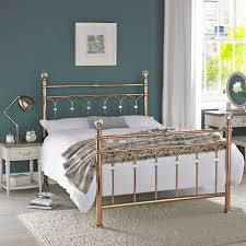 Double Bed Designs Catalogue Bentley Designs Krystal Rose Gold Double Bed Frame