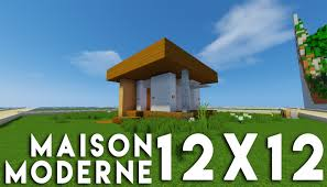 Maison Modern Minecraft by Minecraft Tuto Construction Maison Moderne En 12x12 Youtube