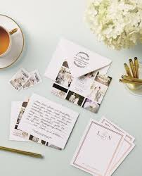 Wedding Invitation Suites Diy Banded Invitations With Template Instructions And Material