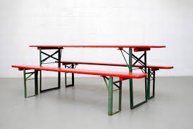german beer garden table and bench red painted german beer garden table and bench set amsterdam modern
