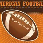 free american football powerpoint template gavea info