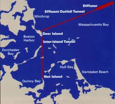 Boston Massachusetts Map by Boston Harbor Outfall Tunnel Ventilation Piping System Boston