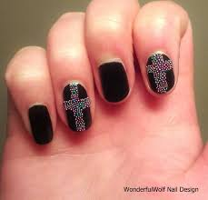 cross nail art wonderfulwolf 29 cross nail art designs ideas