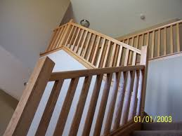 Banister Rail Wood Handrails Stair Parts Stair Balusters Newel Posts