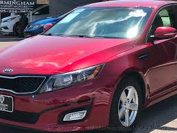 2015 used kia optima 4dr sedan lx at birmingham luxury motors al