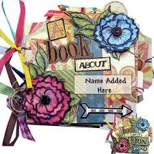 personalized scrapbook album personalized scrapbook christmas gift girl album personalized