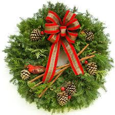corner christmas tree fancy country corner christmas wreath plants beautiful christmas