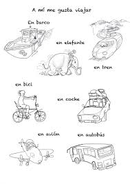 means of transportation in spanish song for kids rockalingua