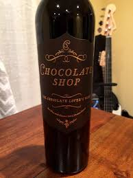 chocolate shop wine chocolate shop pour wine