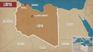 Map Of Libya Libyan Council Calls For All Out War Against U0027war Criminal U0027 Hafta