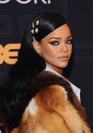 hair jewels rihanna stunned in hair jewels at black rock stylecaster