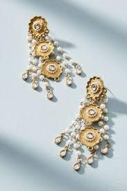 new fashion gold earrings women s earrings delicate fashion earrings anthropologie