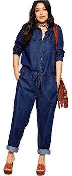plus size denim jumpsuit fashion bug plus size denim jumpsuit sizes 1x 2x 3x 4x 5x