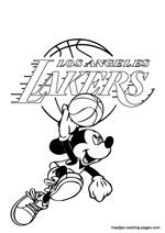basketball coloring pages nba los angeles lakers nba coloring pages