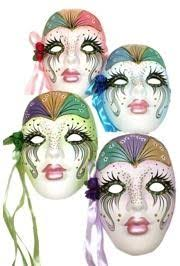 ceramic mardi gras masks porcelain ceramic masks can be worn but also make fantastic
