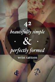 42 beautifully simple wrist tattoo ideas you u0027ll love