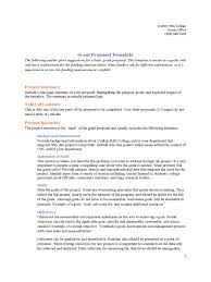 Advocate Resume Samples Pdf by Grant Proposal Template 6 Free Templates In Pdf Word Excel