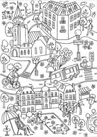 luxembourg garden coloring free printable coloring pages