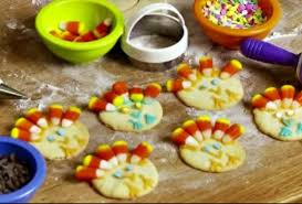 weework activity easy thanksgiving turkey cookies