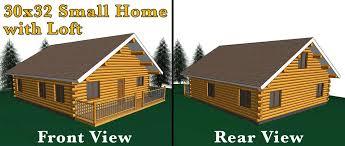 16x20 log cabin meadowlark log homes 30x32 log home w loft meadowlark log homes