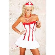 Piece Halloween Costumes Dress Nursing Dresses Nurse Uniform White White Dress