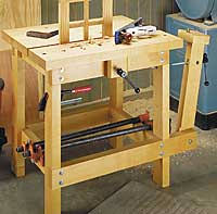 Building Woodworking Bench Small Woodworking Bench Easy Diy Woodworking Projects Step By