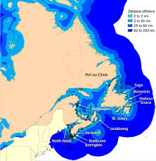 map canada east coast transportation safety board of canada marine investigation
