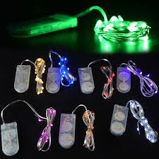 button cell battery operated led string lights led hula