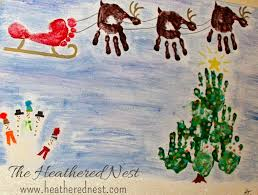 kids handprint art ideas