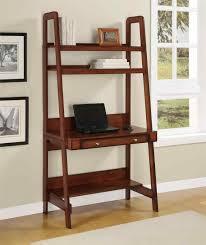 Bookcase With Ladder by Ladder Bookshelf Desk Amiphi Info