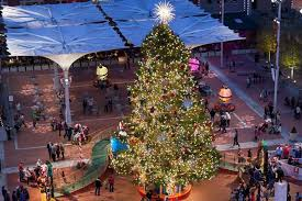 Christmas Tree Shopping Tips - sundance square christmas tree lighting frugal in fort worth