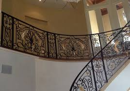 home interior railings wrought iron railings also iron handrails also wrought iron fence