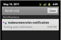 push notifications android power your mobile apps with android push notifications c2dm