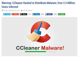 ccleaner malware version the tor project on twitter if you downloaded updated ccleaner