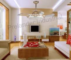 Ceiling Fan For Living Room Invisible Ceiling Fan Decorative Retractable Blade Fan For Living