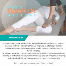 Draping During Massage Can Men Do Barefoot Massage To Affinity And Beyond