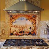 ceramic tile mural backsplash morris tuscan landscape art 25 5