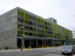 Contemporary Architecture Characteristics by A Carpark In Downtown La Urban Carpark Buildings Pinterest